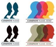 Faces Logo Stock Photography