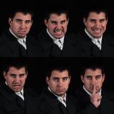 Faces múltiplas Foto de Stock Royalty Free