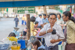 Faces of Myanmar Royalty Free Stock Images