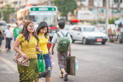 Faces of Myanmar Stock Photography
