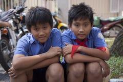 Faces of Saigon Stock Photography