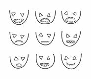 Faces Royalty Free Stock Images