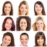 Faces, sorrisos e dentes fotos de stock royalty free