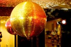 Facet Ball. Dance club Discotheque in Copenhagen Denmark Giant Facet ball royalty free stock image