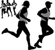 facet biegać Fotografia Royalty Free