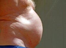 facet w ciąży Obraz Royalty Free