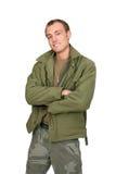 faceta żołnierz Obraz Royalty Free