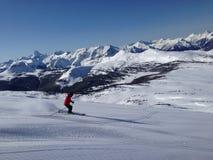 Faceta narciarstwo Fotografia Stock