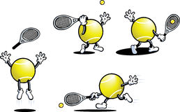 faceta tenis Fotografia Stock