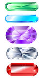 Faceted banner royalty free illustration