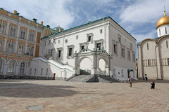 Faceted Chamber in Moscow Kremlin Stock Photo