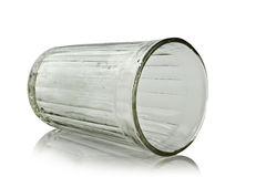 Faceted glass Stock Images