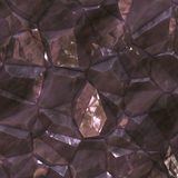Faceted ore deposits Stock Photography