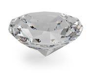 Facetted diamant Arkivbild