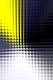 Facettierte Leuchte und Farbe Stockbild