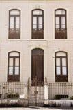 Fachada adornada Aveiro Portugal Fotografía de archivo