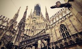 Fachada adornada de la catedral Fotos de archivo libres de regalías