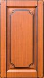 Fachada adornada de madera de los muebles Fotografía de archivo