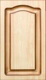Fachada adornada de madera de los muebles Fotos de archivo libres de regalías