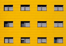Fachada amarela Foto de Stock Royalty Free