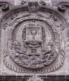 Fachada antiga da igreja mim Imagem de Stock
