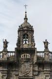 Fachada barroca de la iglesia Foto de archivo