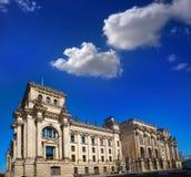 Fachada Bundestag Alemanha de Berlin Reichstag Fotografia de Stock Royalty Free