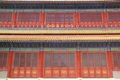 Fachada china Fotos de archivo libres de regalías