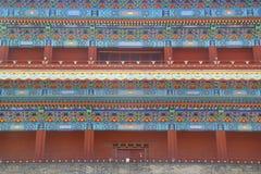 Fachada china Foto de archivo libre de regalías
