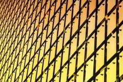 Fachada cinética da construção imagens de stock