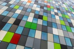 Fachada coloreada Foto de archivo libre de regalías