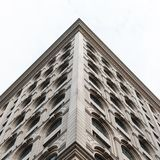 Fachada con estilo Edificio hermoso Fotografía de archivo libre de regalías
