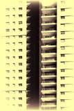 Fachada con Windows en fila imagen de archivo libre de regalías