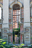 Fachada constructiva abandonada Foto de archivo libre de regalías