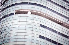 Fachada corporativa moderna de la torre Fotos de archivo libres de regalías