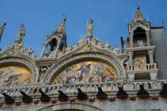 Fachada da abóbada da igreja de San Marco Imagem de Stock Royalty Free