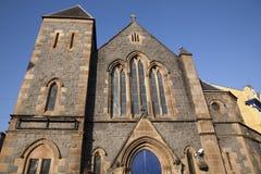 Fachada da antiga igreja Fotos de Stock Royalty Free