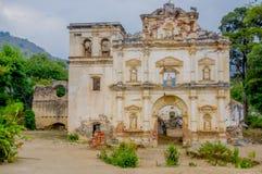 Fachada da antiga igreja do EL Carmen Imagem de Stock
