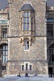 Fachada da câmara municipal em Aix-la-Chapelle, Alemanha Imagens de Stock