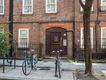 Fachada da casa de Betterton em Londres Imagens de Stock