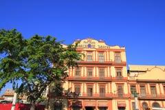 Fachada da casa em Havana Foto de Stock