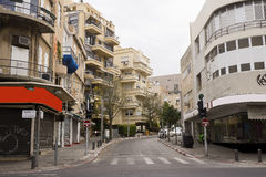 Fachada da casa velha renovada Israel Fotos de Stock Royalty Free