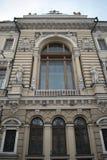 Fachada da construção bonita em St Petersburg Fotografia de Stock Royalty Free