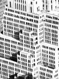 Fachada da construção da arquitetura Imagens de Stock Royalty Free