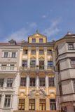 Fachada da construção no quadrado velho em Goerlitz imagem de stock royalty free