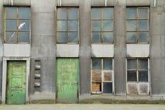 Fachada da fábrica Foto de Stock