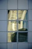 Fachada da folha com janelas abstratas Fotografia de Stock