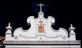 Fachada da igreja Fotos de Stock Royalty Free