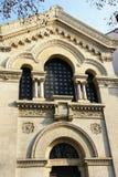 Fachada da igreja Imagens de Stock