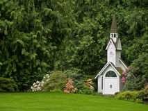 Fachada da igreja Imagem de Stock Royalty Free